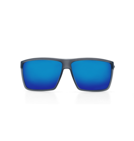 Costa Del Mar Rincon Matte Smoke Crystal  Blue Mirror 580G