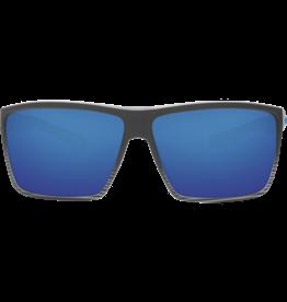 Costa Del Mar Rincon Matte Smoke Crystal Fade  Blue Mirror 580G