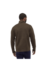 Patagonia Mens Better Sweater 1/4 Zip Logwood Brown
