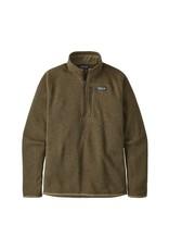 Patagonia Mens Better Sweater 1/4 Zip Sage Khaki