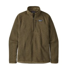 Patagonia Mens Better Sweater 1/4 Zip Sage Khaki