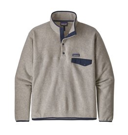Patagonia Mens LW Synch Snap-T P/O Oatmeal Heather