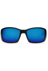 Costa Del Mar Blackfin Matte Black  Blue Mirror 580P