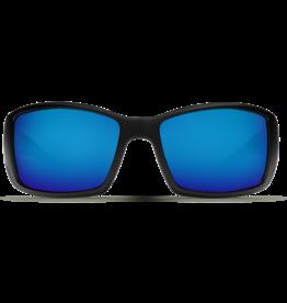 Costa Del Mar Blackfin Matte Black  Blue Mirror 580P