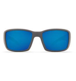 Costa Del Mar Blackfin Matte Gray  Blue Mirror 580P