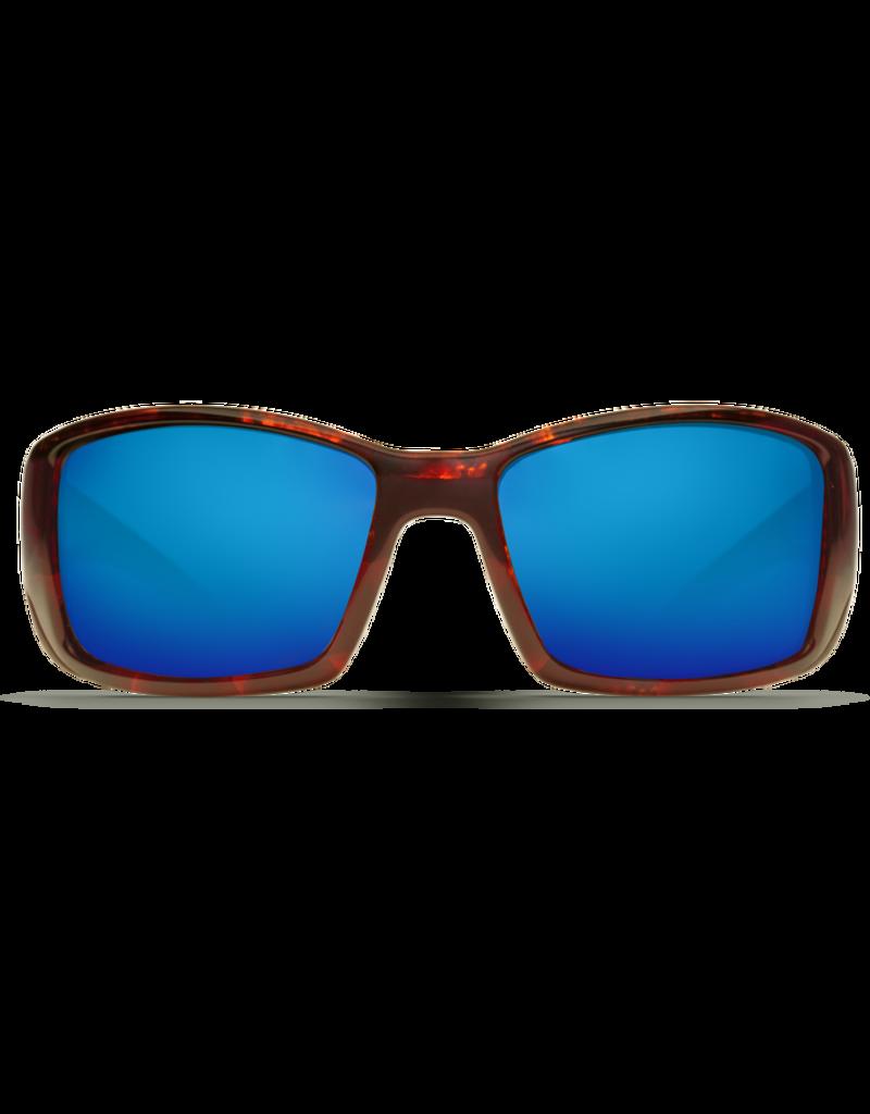 Costa Del Mar Blackfin  Tortoise  Blue Mirror 580G