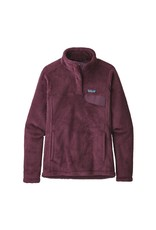 Patagonia Womens Re-Tool Snap-T P/O Feather Grey - Ink Black X-Dye w/Light Balsamic