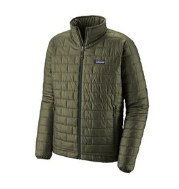 Patagonia Mens Nano Puff Jacket Industrial Green