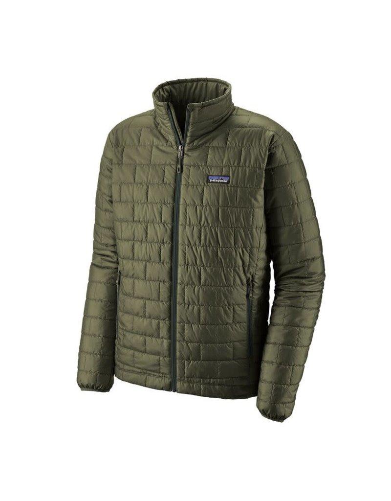 Patagonia Mens Nano Puff Jacket Industrial Green