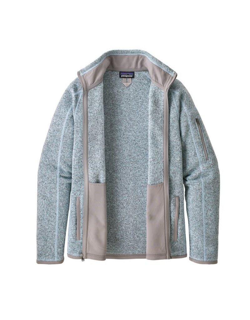Patagonia Womens Better Sweater Jacket Hawthorne Blue