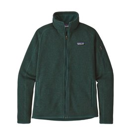 Patagonia Womens Better Sweater Jacket Piki Green