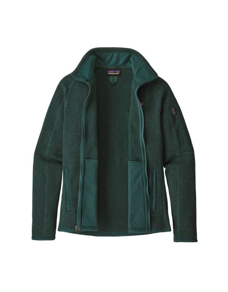 Patagonia Womens Better Sweater Jacket Piki Green