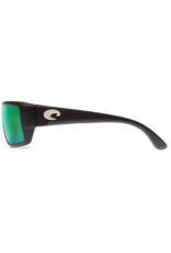 Costa Del Mar Fantail  Matte Black  Green Mirror 580G