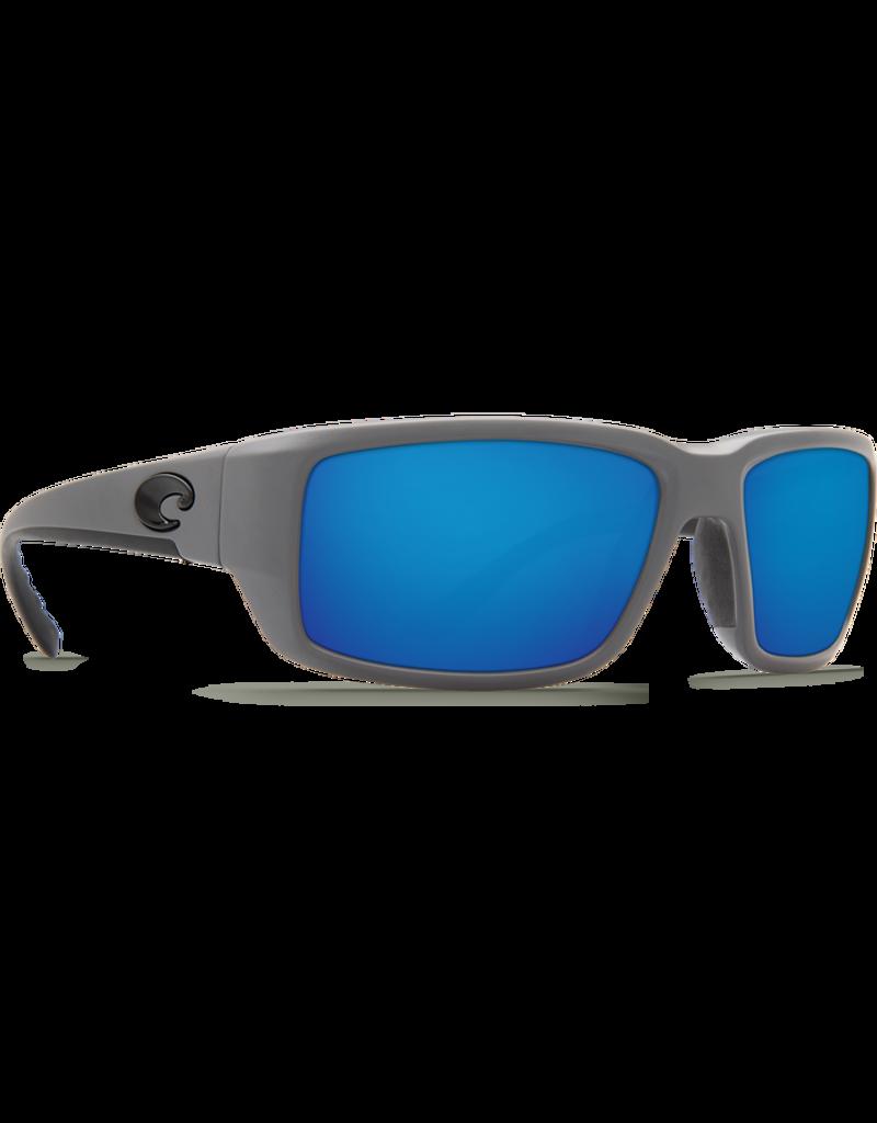 Costa Del Mar Fantail  Matte Gray  Blue Mirror 580P