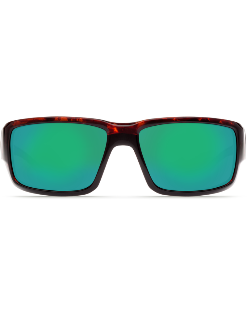 Costa Del Mar Fantail  Tortoise  Green Mirror 580G