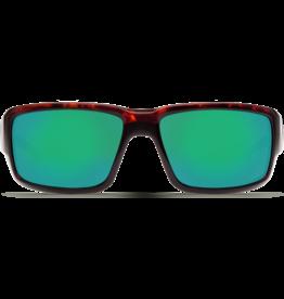 Costa Del Mar Fantail Tortoise  Green Mirror 580P