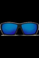 Costa Del Mar Tuna Alley Matte Black  Blue Mirror 580P