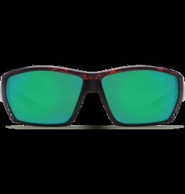 Costa Del Mar Tuna Alley  Tortoise  Green Mirror 580G