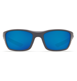 Costa Del Mar Whitetip Matte Gray  Blue Mirror 580P