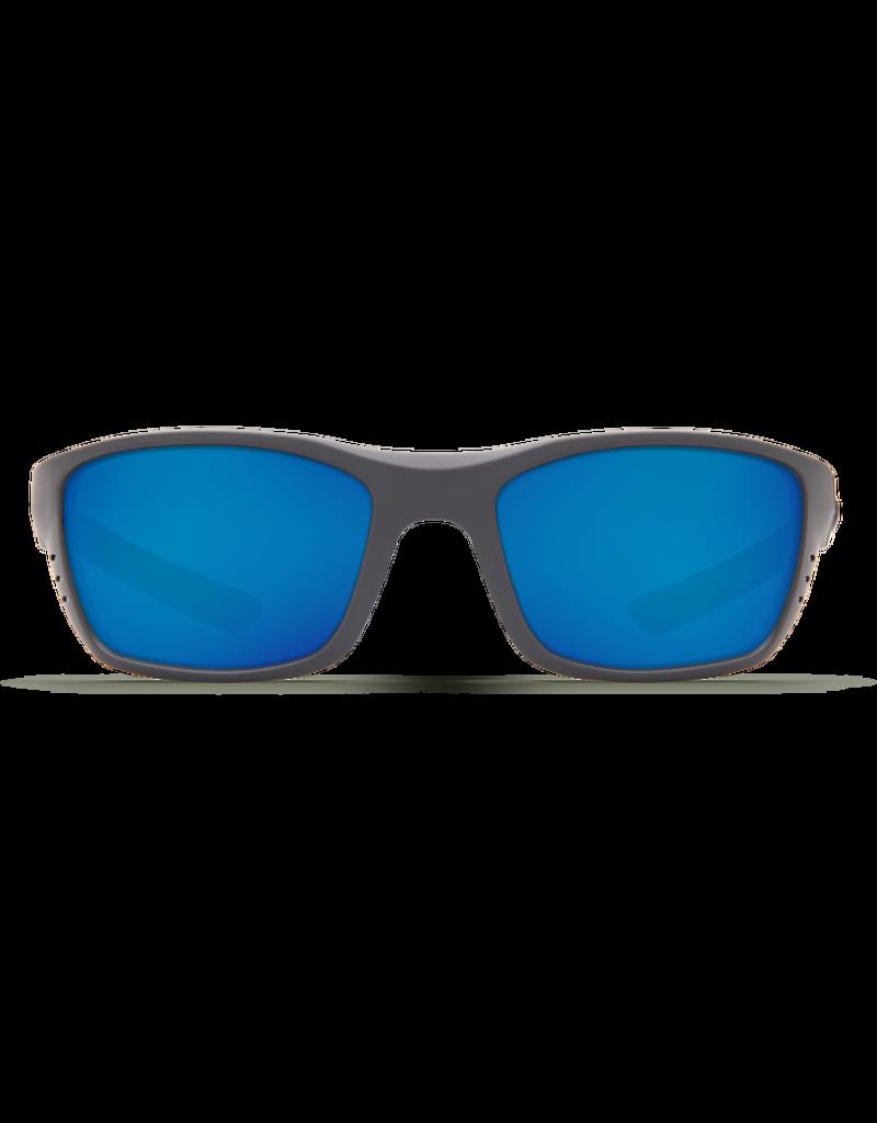 Costa Del Mar Whitetip Matte Gray  Blue Mirror 580P