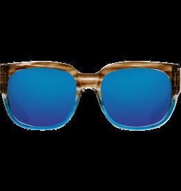 Costa Del Mar Waterwoman Shiny Wahoo  Blue Mirror 580G