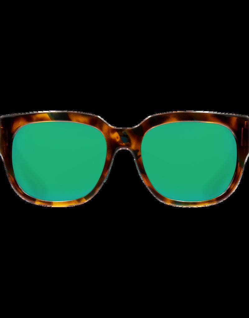Costa Del Mar Waterwoman Shiny Palm Tortoise  Green Mirror 580P