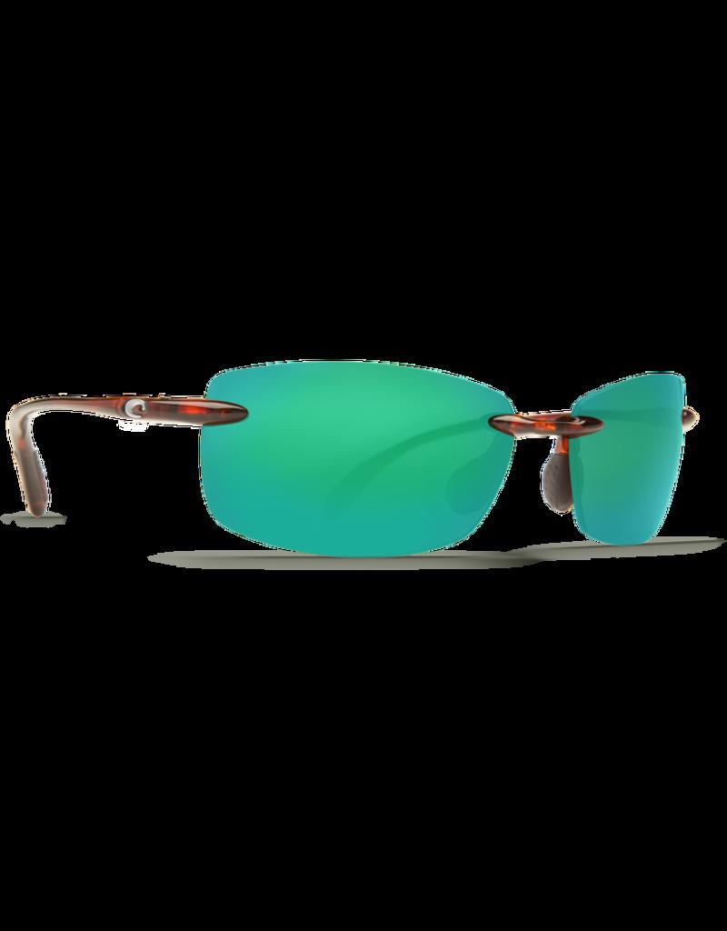 Costa Del Mar Ballast Tortoise  Green Mirror 580P