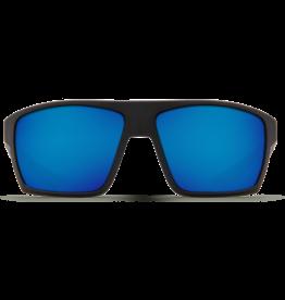 Costa Del Mar Bloke Matte Black + Matte Gray  Blue Mirror 580G