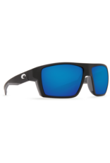 Costa Del Mar Bloke Matte Black + Matte Gray  Blue Mirror 580G