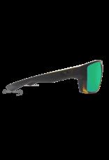 Costa Del Mar Bloke Matte Black/Shiny Tortoise  Green Mirror 580P