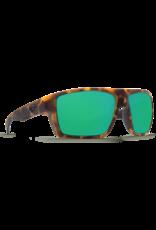 Costa Del Mar Bloke Matte Retro Tortoise + Matte Black  Green Mirror 580G