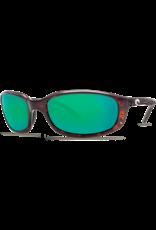 Costa Del Mar Brine  Tortoise  Green Mirror 580G
