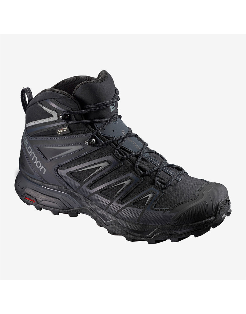 Salomon Men's X Ultra 3 Mid Gtx Bk/India Ink/Mon
