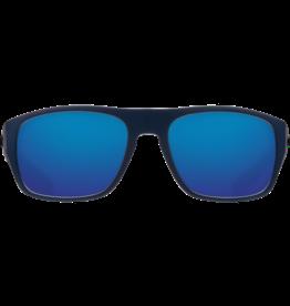 Costa Del Mar Tico Matte Midnight Blue  Blue Mirror 580G