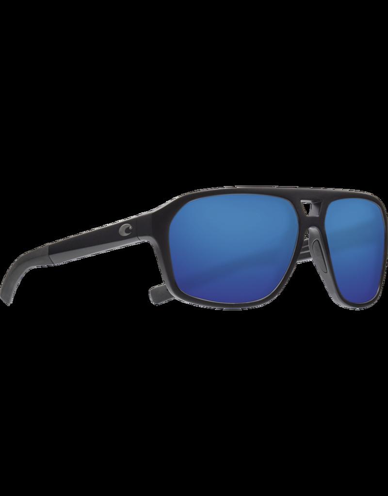 Costa Del Mar Switchfoot  OCEARCH MATTE BLACK  Blue Mirror 580G