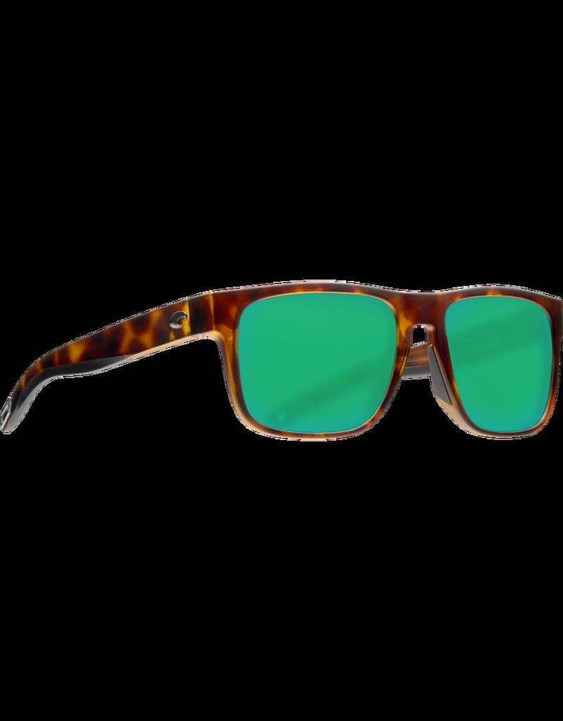 Costa Del Mar Spearo Matte Tortoise  Green Mirror 580G