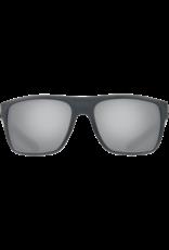 Costa Del Mar Broadbill Matte Gray  Gray Silver Mirror 580P