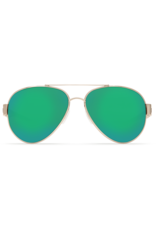 Costa Del Mar South Point Rose Gold w/Light Tortoise Temples  Green Mirror 580G