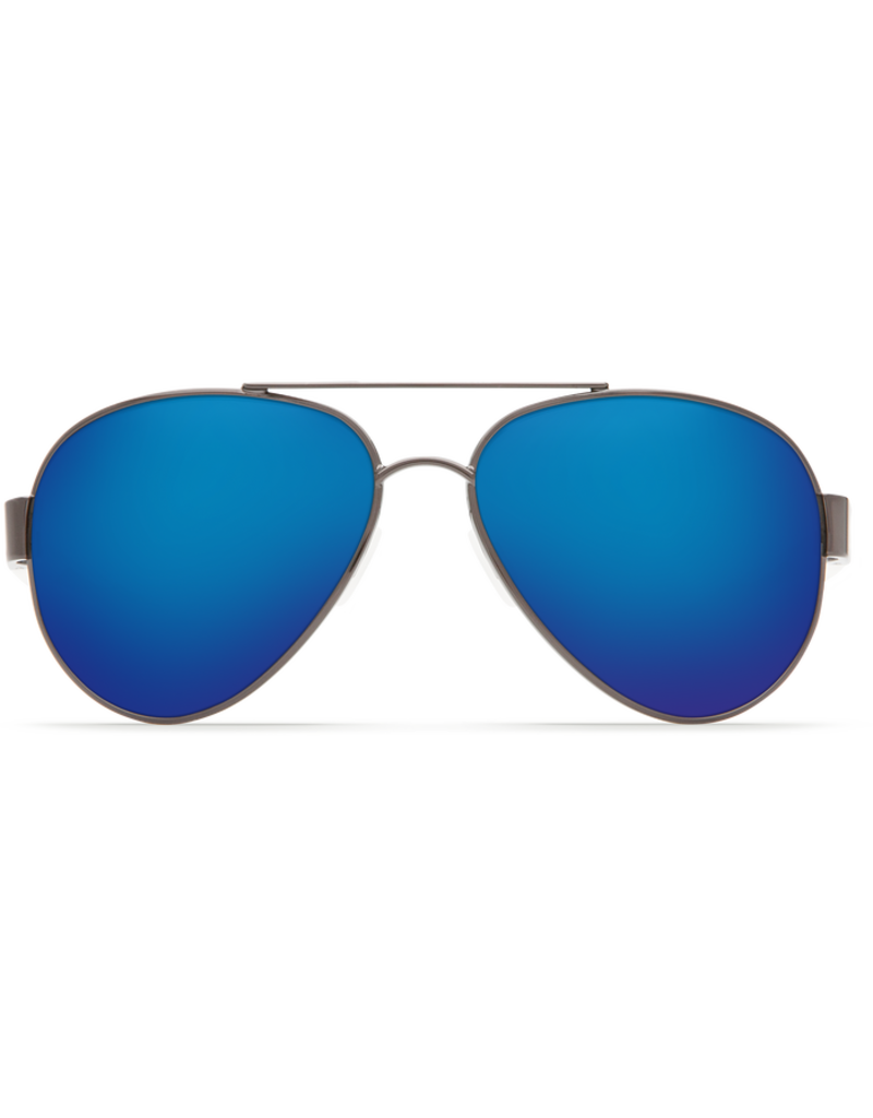 Costa Del Mar South Point Gunmetal w/Crystal Temples  Blue Mirror 580P