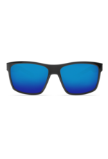 Costa Del Mar Slack Tide Shiny Black  Blue Mirror 580G