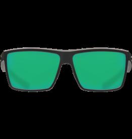 Costa Del Mar Rinconcito Matte Black  Green Mirror 580G