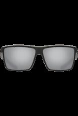 Costa Del Mar Rinconcito Matte Black  Gray Silver Mirror 580G