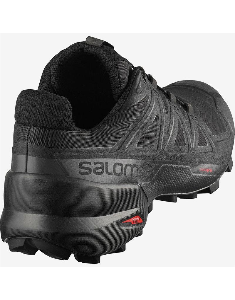 Salomon Mens Speedcross 5 Black/Bk/Phantom