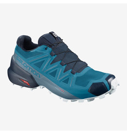 Salomon Mens Speedcross 5 Fjord Blue/Navy Blue