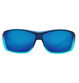 Costa Del Mar Cat Cay Matte Caribbean Fade Blue Mirror 580P
