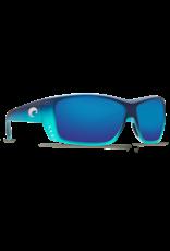 Costa Del Mar Cat Cay Matte Caribbean Fade Blue Mirror 580P
