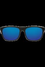 Costa Del Mar Cheeca Shiny Black Blue Mirror 580G