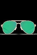 Costa Del Mar Cook Shiny Gold  Green Mirror 580P