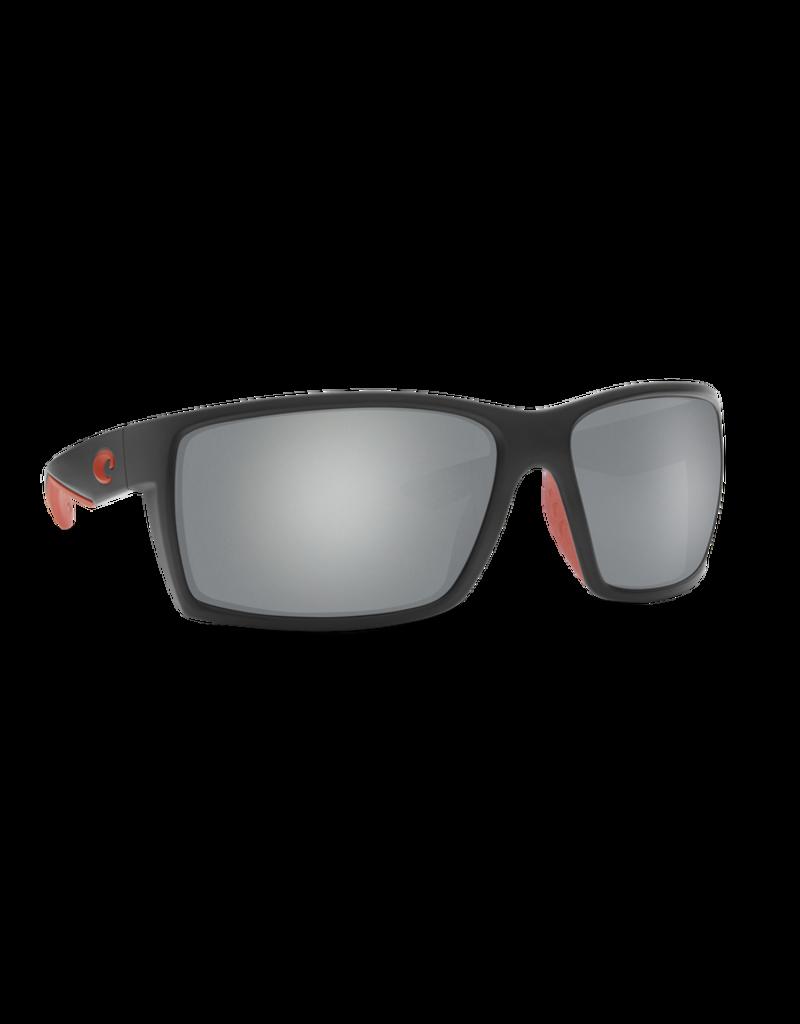 Costa Del Mar Reefton Race Black  Gray Silver Mirror 580P
