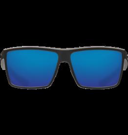 Costa Del Mar Rinconcito Matte Black  Blue Mirror 580G